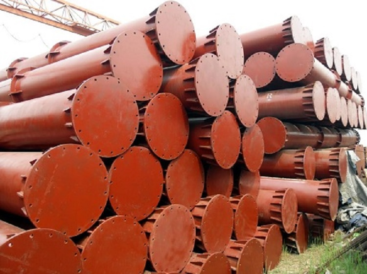 地铁钢支撑厂家专业生产固定端活络头钢围檩