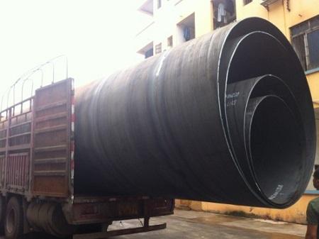 DN2400大口径抗洪排污钢管--广西南宁沧海钢管厂制造贝博直销包运